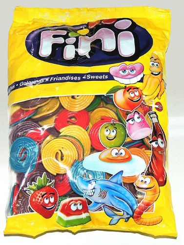 FIN79 FINI FRUIT WHEELS 1KG BAG
